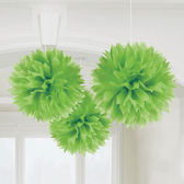 彩球吊飾3入-奇異果綠