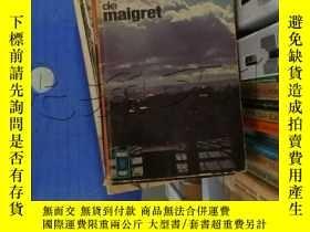 二手書博民逛書店SIMENON罕見LA PATIENCE DE MAIGRET.