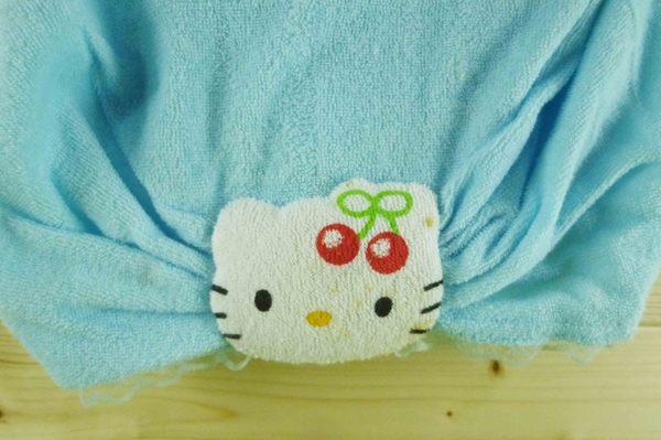 【震撼精品百貨】Hello Kitty 凱蒂貓~沐浴髮帶~藍【共1款】