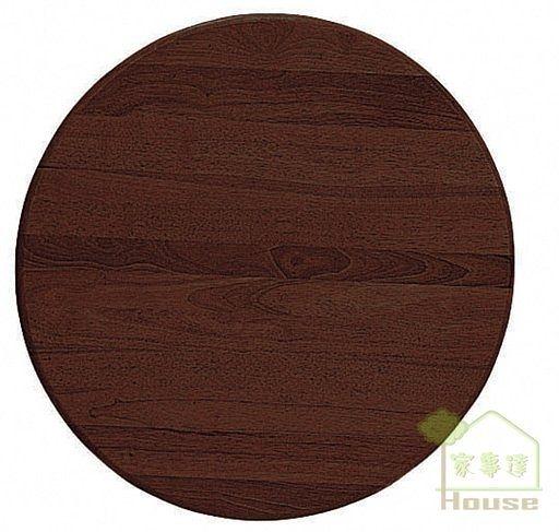 [ 家事達] TMT 3*3尺 圓型實木餐桌面板 (TAR-63)-
