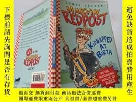 二手書博民逛書店Marvin罕見Redpost:Kidnapped At Birth 馬文·雷德波斯特:出生時被綁架Y2003