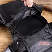 腿包 新款韓版潮流 腿包 時尚胸包多功能腰包防水尼龍料輕便男士斜背包