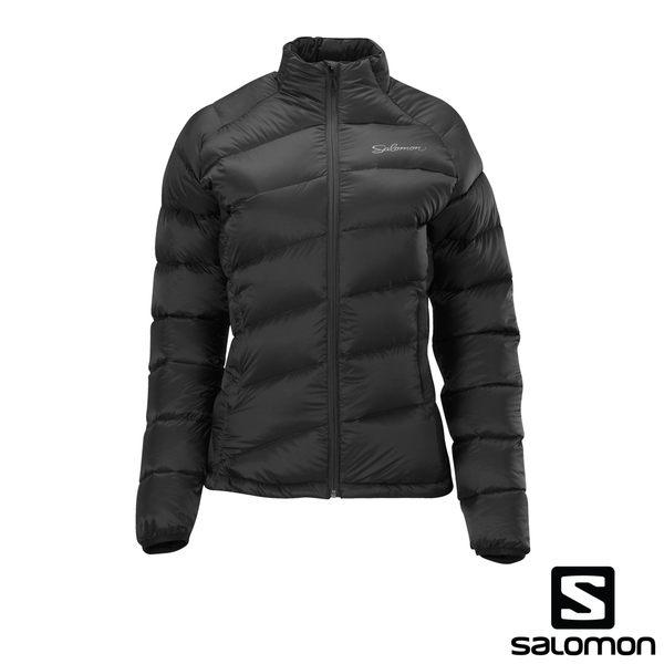 [法國SALOMON] MINIM DOWN JACKET 女性羽絨外套夾克(經典黑)  326706