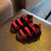 雙十二狂歡  男寶寶涼鞋1-3歲 男童夏新款兒童沙灘鞋可調節軟底女小童女孩公主【居享優品】