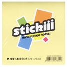 Stickiii 3x3 便利貼.黃76*76mm