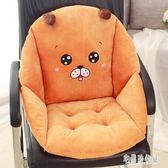 坐墊 加大椅子坐墊靠墊一體辦公室座墊椅墊學生屁股墊子電腦椅 nm13120【宅男時代城】