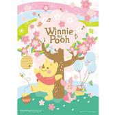 【P2 拼圖】迪士尼 Disney 小熊維尼 Winnie The Pooh 櫻花樹下 (108片) HPD0108-126