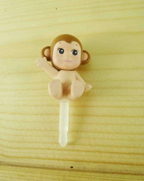 【震撼精品百貨】Q比_Kewpie~防塵塞-猴子