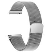 錶帶 金屬錶帶男女不銹鋼帶米蘭尼斯錶鍊磁吸代用天王浪琴dw手錶帶 4色