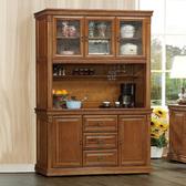【YFS】布尼爾全實木樟木5尺餐櫃全組-150x45x199.8cm