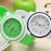 兒童手錶女孩男孩防水韓國果凍錶小學生手錶電子錶小孩手錶石英錶 免運直出