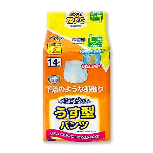 (多)日本一番 成人活力褲L~LL號(成人紙尿褲)14片X4包(箱購)[衛立兒生活館]