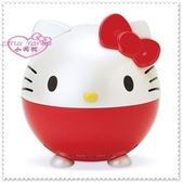 小花花日本精品♥ Hello Kitty 加溼器 提升皮膚保水度 加濕器 紅色臉頭23006904