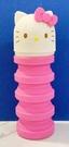 【震撼精品百貨】Hello Kitty 凱蒂貓~三麗鷗 KITTY 可伸縮矽膠收納包/筆袋#18406