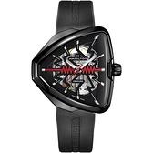 Hamilton漢米爾頓 Ventura 貓王80週年鏤空機械錶(H24535331)