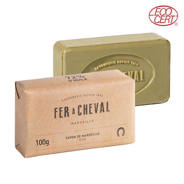 Fer à Cheval法拉夏 經典馬賽皂(橄欖油-長方形) 100g【BG Shop】