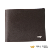 【BRAUN BUFFEL】提貝里烏斯系列四卡零錢袋短夾 -棕色 BF166-C315-SL