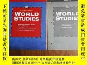 二手書博民逛書店WORLD罕見STUDIES TEST PREP WORKBOO