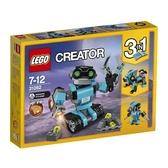 【LEGO 樂高 積木】31062 創意大師 Creator 探險機器人