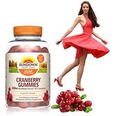 【南紡購物中心】《Sundown》50倍濃縮蔓越莓軟糖(75粒/瓶) 一入