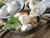 新竹海瑞杏鮑菇花枝丸600g-海瑞貢丸 不斷的創新口味、多元化