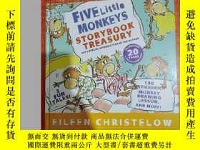二手書博民逛書店FIVE罕見LITTLE MONKEYS STORYBOOK TREASURY 精裝Y27111 出版2