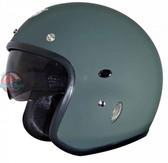 [安信騎士]  GP5 237 阿帕契 素色 消光綠 復古帽 半罩 造型 安全帽 內襯全可拆洗