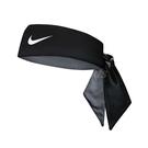 Nike 頭帶 Tennis Headband 黑 白 男女款 勾勾 快乾 吸汗 頭巾 髮帶 【ACS】 NTN0001-0OS