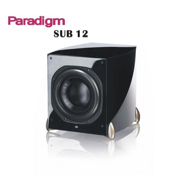 加拿大 Paradigm SUB12 piano black 鋼烤鏡面黑 超低音喇叭!霸氣登場!SUB-12 重低音 Pioneer Focal HD Comet