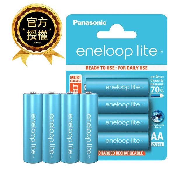 Panasonic國際牌 3號 eneloop低自放電鎳氫充電電池 4入