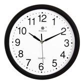 掛鐘 掛鐘客廳鐘錶簡約創意圓形電子石英鐘家庭靜音辦公時鐘掛錶jj