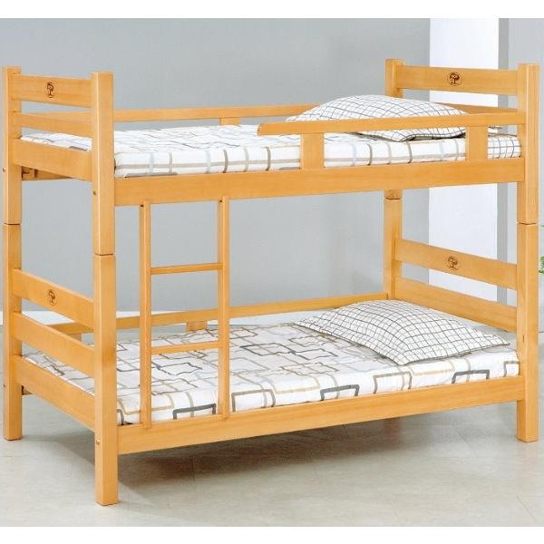 雙層床 AT-599-1 檜木3尺雙層床 (不含床墊) 【大眾家居舘】
