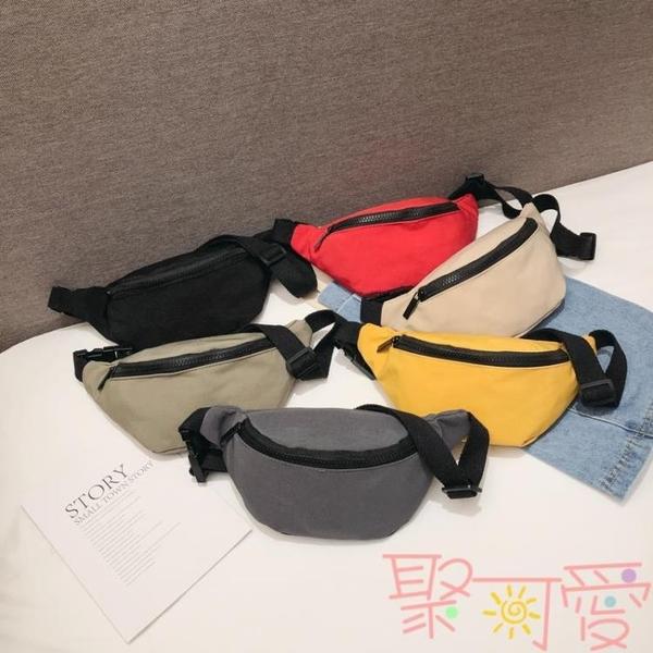 男女童兒童包包腰包輕便出游韓版可愛斜背包胸包【聚可愛】