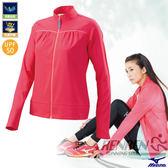MIZUNO 美津濃 女路跑風衣(玫紅) 抗紫外線薄外套 日本同步商品
