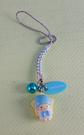 【震撼精品百貨】Little Twin Stars KiKi&LaLa 雙子星小天使~手機吊飾_藍_奇奇