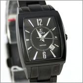 【萬年鐘錶】SIGMA日系 全黑經典時尚女錶 8801L-B