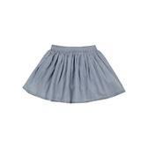mothercare 日系素面牛仔圓裙-活潑天地-藍色(M0H0599)3~9A