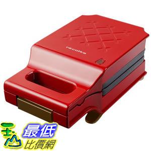 [東京直購] recolte 甜心紅 PRESS SAND MAKER Quilt RPS-1(R) 格子三明治機