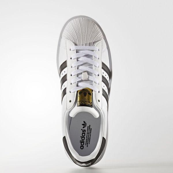 Adidas Originals Superstar Bold W [BA7666] 女鞋 運動 休閒 白 黑 愛迪達