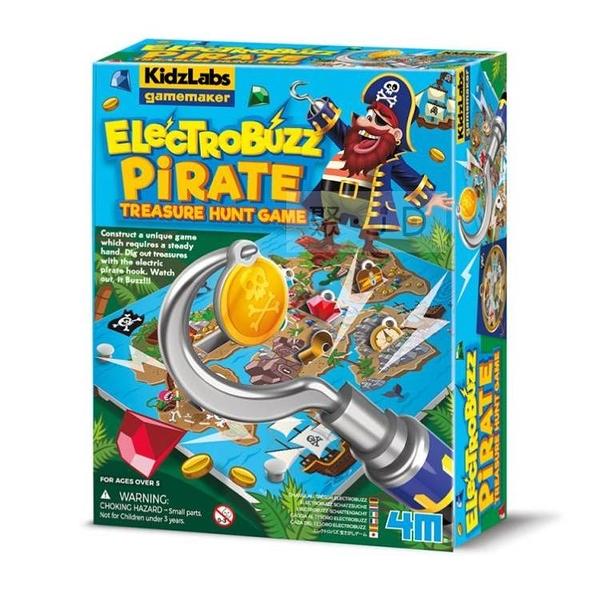 【4M】03436 科學探索-海盜船長的藏寶圖 Pirate Treasure Hunt