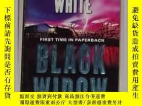 二手書博民逛書店英文原版罕見Black Widow by Randy Wayne