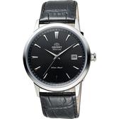 ORIENT 東方錶 DATE系列日期顯示機械錶-黑/41mm FER27006B