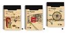【筆坊】青青文具 CM-3258 貓行李系列 32K綜合萬用旅遊手札