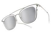 PAUL HUEMAN 水銀太陽眼鏡 PHS1083A 17 (透明-銀) 韓系人氣百搭白水銀款 # 金橘眼鏡