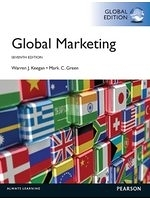 二手書博民逛書店 《Global Marketing. Warren J. Keegan, Mark C. Green》 R2Y ISBN:0273766716│WarrenJ.Keegan