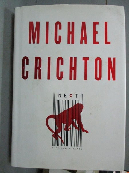 【書寶二手書T8/原文小說_XEX】Next: A Novel_Crichton, Michael