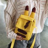手機包女斜挎小包2018新款潮可愛小包包帆布包卡通百搭單肩斜跨包快速出貨下殺89折