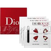 【VT薇拉寶盒】Dior 迪奧 超惹火精萃唇膏&絲絨唇露試色卡*3