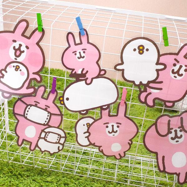 PGS7 卡娜赫拉系列商品 - 卡娜赫拉 Kanahei 透明 造型貼 行李箱貼紙 大張貼紙 兔兔 P助【SHM71234】