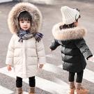 兒童棉服女 女童棉衣2021新款洋氣中長款冬裝女寶寶加厚棉襖外套兒童羽【快速出貨八折下殺】